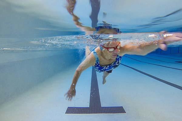 Swimming in the Barley pool
