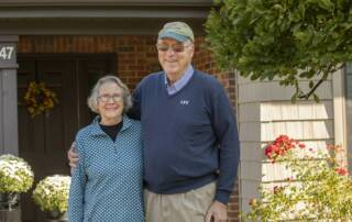 residents at continuing care retirement communities